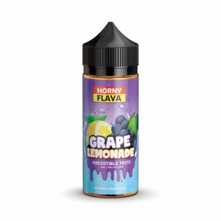 Horny Flava Grape Lemonade 120ml