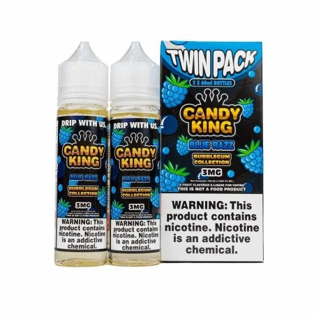 Candy King Bubblegum Blue Razz 2x 50/60ml