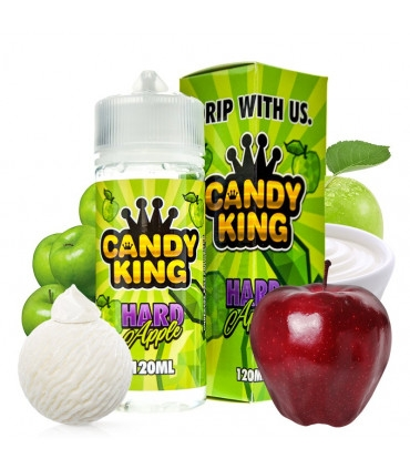 Candy King Hard Apple (120ml shortfill)